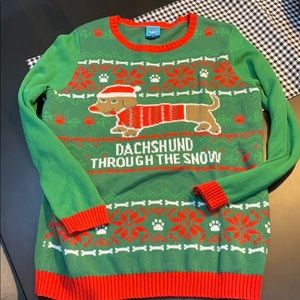 Sweaters - Ugly Christmas Sweater Dachshund